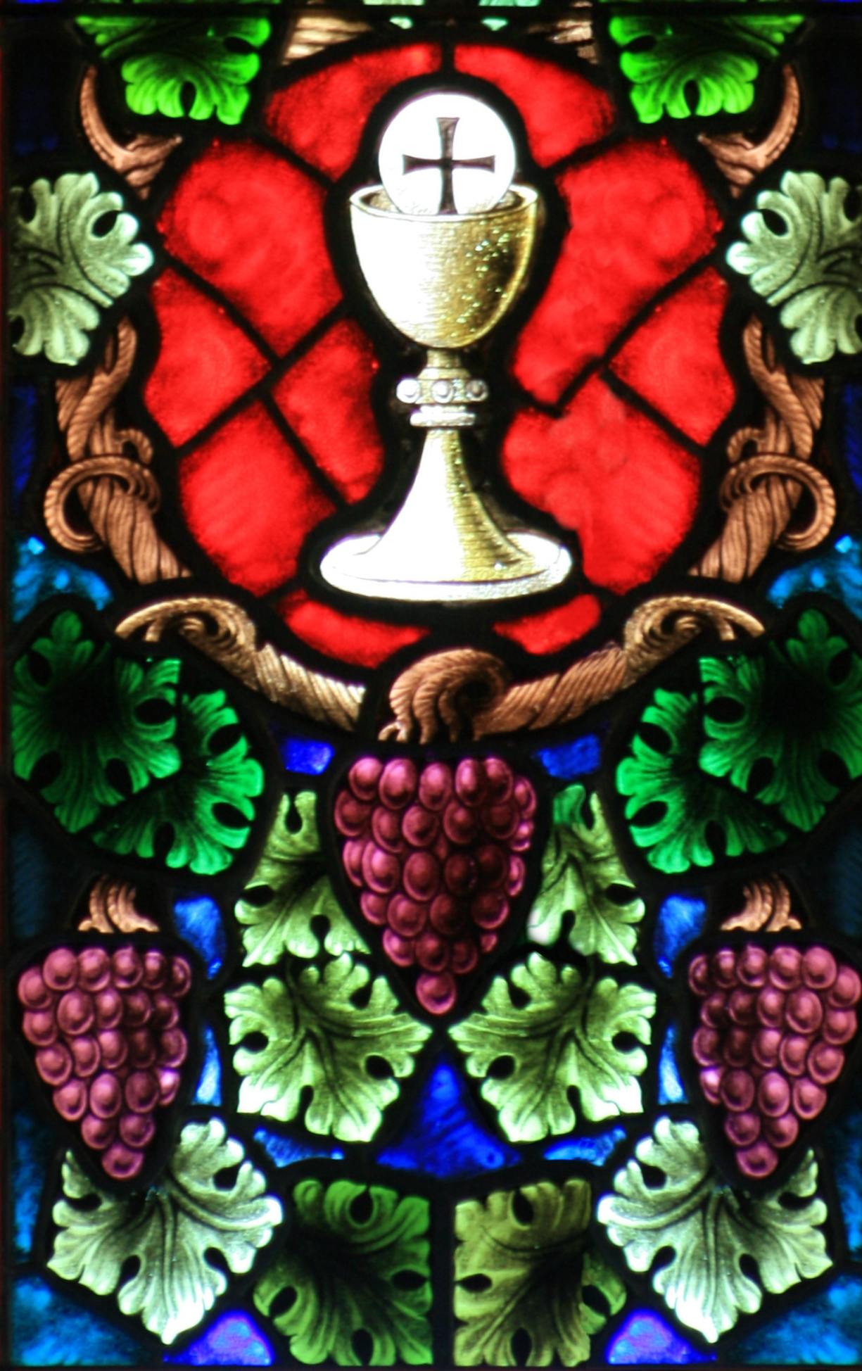 File Chalice With Host And Grapes 001 Jpg The Work Of