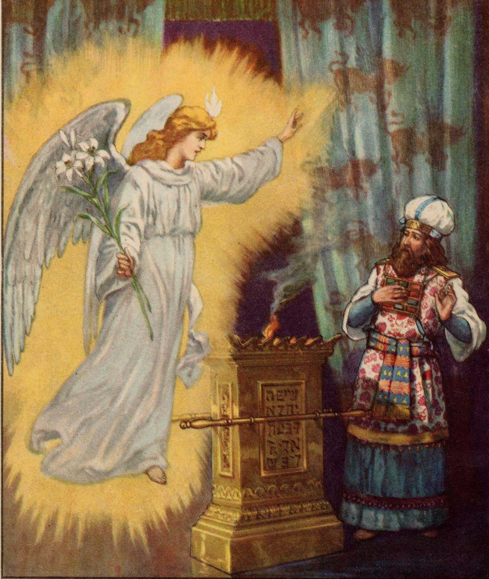 File:Do Not Fear Zechariah For Your Prayer Has Been Heard
