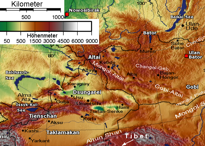 File:Altai Mountains - Tienschan-Orte Map 001.png - The ...