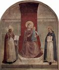 Jesus - Blessed Mother - Saint Dominic - Saint Zenobius - Fra Angelico 041.jpg