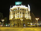 Ristic Palace at night Skopje Macedonia 01.JPG