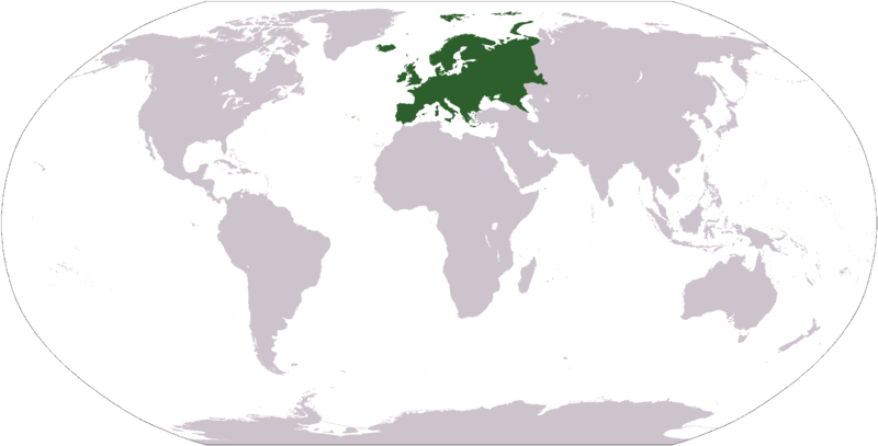 File:Location of the Continent of Europe.png