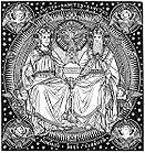 Sanctus, Sanctus, Sanctus - Trinity and Four Evangelists 001 J.jpg