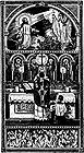 Jesus at Agony in the Garden, Priest at Consecration, Holy Souls in Purgatory 001.jpg