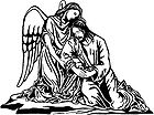 Angel Consoling Jesus During the Agony in the Garden 001.jpg
