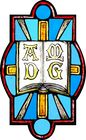 AMDG Cross Rays and Book Symbol 001.jpg
