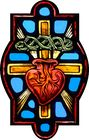 Sacred Heart Crown of Thorns and Cross Symbol 001.jpg